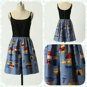 RARE Anthropologie County Fair Dress by Anna Sui